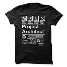 Make this awesome proud Architect: Best Seller - PROJECT ARCHITECT as a great gift Shirts T-Shirts for Architects