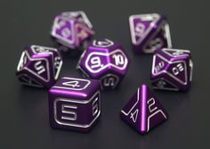 The Polyhedral collection from AKO Dice.