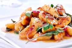 Sweet Potato Gnocchi with Brown Butter and Sage