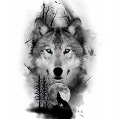 sketches for men Wolf Pack Legend Wolf Tattoos Men, Love Tattoos, Tattoos For Guys, Circle Tattoos, Wolf Tattoo Girls, Tattoos Of Wolves, Fish Tattoos, Feather Tattoos, Wolf Tattoo Design