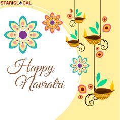 May the festival of Navratri brings joy and prosperity into your life. Happy Navratras!