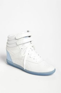 Reebok 'Freestyle Hi Wedge A. Keys' Sneaker (Women)(Nordstrom Exclusive) available at Nordstrom