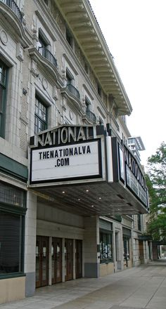 Richmond, Virginia's National Theater, designed by architect Claude K. Howell, who also created many Monument Avenue residences, opened with much fanfare in 1923. It became a part of the then-thriving downtown theater scene. Touring vaudeville acts of the era performed on its stage. Its screen was lit up with silent movies, accompanied by live music in the largest orchestra pit in the state.