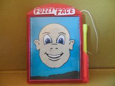 Ja-Ru Magnetic Fuzzy Face Vintage by ChicAvantGarde Eclectic Design, Classic Toys, Vintage Home Decor, Stocking Stuffers, 1990s, Wands, Man Cave, Magnets, Vintage Fashion