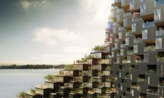 Ziggurat-like modular high-rise twists like a plant to follow the sun | Inhabitat - Green Design, Innovation, Architecture, Green Building