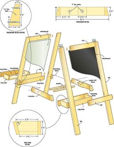 Build a perfect easel for children
