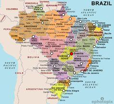 The 27 beautiful Brazilian states SkyscraperCity Maps