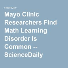 Learning Disorders Know The Signs How To Help Mayo Clinic >> Adhd Ld S