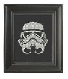 Pattern Funny Cross Stitch Storm Trooper Star Wars by CrassCross