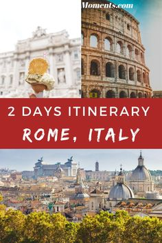 Looking for the perfect 2 days in Rome itinerary? Here is my guide including everything you must know: where to stay in Rome and what to do! | travel to Rome | Rome travel guide | Rome Italy tips | Rome vacation Rome Travel, Italy Travel, Rome Holidays, 2 Days In Rome, Rome Vacation, Rome Attractions, Rome Itinerary, Italy Destinations