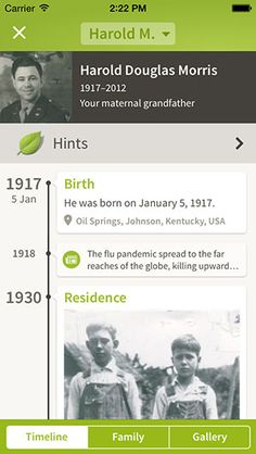 Ancestry mobile apps for iPhone, iPad, Android and Amazon