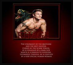 black dagger brotherhood - Rhage son of Thorture