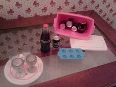 Raminhos de Pano: Passo-a-Passo - Miniatura da Lata de Coca-Cola