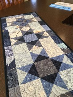 Twice as Nice Table Runner Pattern Patchwork Table Runner, Table Runner And Placemats, Table Runner Pattern, Quilted Table Runners, Table Topper Patterns, Quilted Table Toppers, Small Quilts, Easy Quilts, Project Table