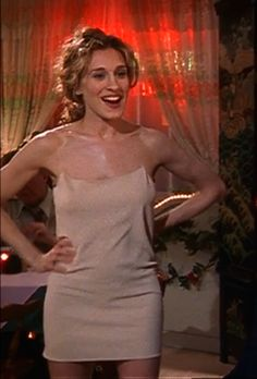 Carrie Bradshaw's naked dress