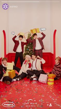 ASTRO is the second artist revealed for Fantagio's last 'FM project