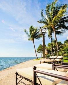 Grove Isle Hotel & Spa  ( Miami, Florida )  Grove Isle Hotel & Spa is just minutes from Coconut Grove and downtown Miami. #Jetsetter