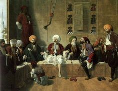 İstanbul-Coffe-House-Addison Thomas Millar - Talking Men