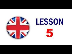 Kurz angličtiny pro samouky: Lekce 5 - YouTube