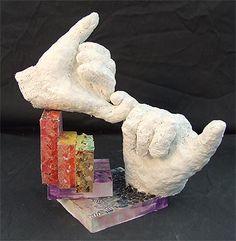 Plaster hands/masks