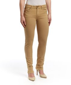 Another great find on #zulily! Fawn Mustang Sally Straight-Leg Jeans by LNO jeans #zulilyfinds
