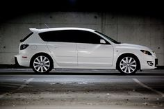 Mazda Speed 3 this is my car same color and everything I love drivin it