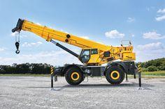 #Grove to Introduce New Rough-Terrain #Cranes at #bauma 2016 | Rock & Dirt Blog Construction Equipment News & Information
