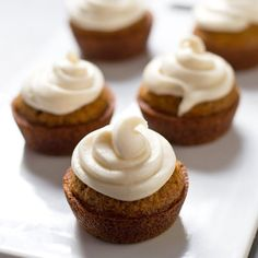 The Best Carrot Cake Cupcakes with Cream Cheese Frosting. I'm not kidding.