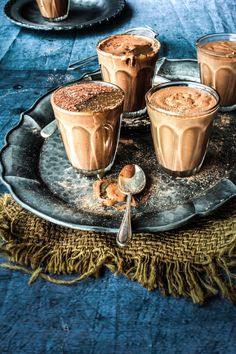 Chocolate Kahlua Mousse with Salted Caramel Sauce from 'sugar et al'