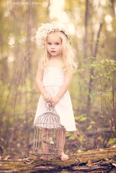 Woodland Princess - Creative Children Photography
