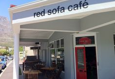 Red Sofa Cafe Red Sofa, Outdoor Decor, Home Decor, Decoration Home, Room Decor, Red Couches, Home Interior Design, Home Decoration, Interior Design