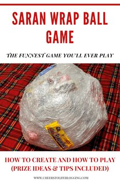 Saran Wrap Ball Game - A Crazy Fun Game for Adults and Kids