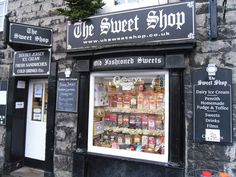 The Sweet Shop - Kirkby Lonsdale, Carnforth, England, UK.