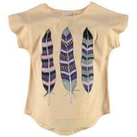 Little Pieces Feathers Shirt