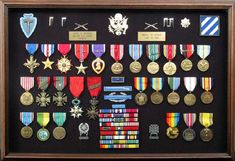 Chesty Puller Ribbons | ETA: Audie Murphy had him beat pretty easily as well: