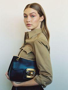 Gig Hadid Miu Miu Paris Fashion Week