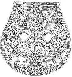 a magyar turáni ornamentika története Medieval Embroidery, Hungarian Embroidery, Folk Embroidery, Learn Embroidery, Embroidery Patterns, Sewing Patterns, Embroidery Dress, Leather Carving, Leather Art