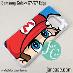 Super Mario Phone Case for Samsung Galaxy S7 & S7 Edge