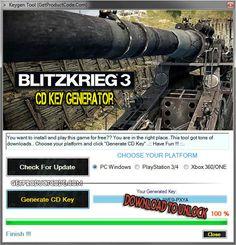 Blitzkrieg 3 CD Key Generator