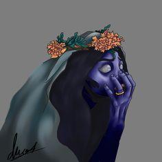 Corpse Bride   By: Daria Ward Digital Art