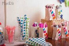 Resultado de imagen para bolsas friselina para cumpleaños
