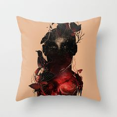 Universe+Inside+Throw+Pillow+by+Nicebleed+-+$20.00