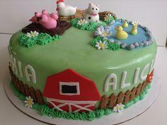 Farm cake  by @ruthysbakeshop