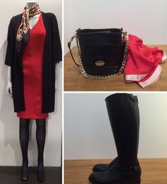 NYHEDER 1. December #ønsketid #HugoBoss Kjole #Sibenlinnebjerg Strik kimono #HeartMade Tørklæde #AlbertoFasciani Støvle #Mulberry Mini Jamie Bag i ny Croco print #MindOfLine Tørklæde Se flere ønsker http://www.fashionbox.dk/dametoej www.FLOT.nu