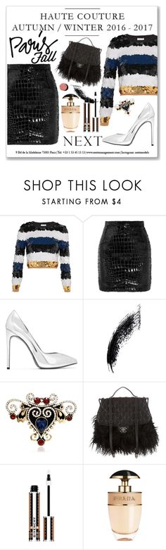 """Paris for fall"" by lina-horan69 ❤ liked on Polyvore featuring Sonia Rykiel, Yves Saint Laurent, Chanel, Givenchy and Prada"