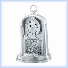 Elegantní stolní - krbové hodiny Rhythm Pocket Watch, Clock, Watches, Accessories, Decor, Products, Watch, Decoration, Wristwatches