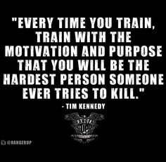 Be the hardest person someone ever tries to kill. YEAH!!!!!!!!!!