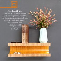 Entryway floating shelf/Birch Plywood/ bedside table/ floating nightstand/furniture/ yellow nightstand/wood shelf/bookshelf Yellow Nightstand, Shelf Nightstand, Bedside, Floating Nightstand, Floating Shelves, Plywood Shelves, Wood Shelf, High Quality Furniture, Easy Install
