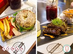At TFK, we love eating out, and Siman's Estación Gourmet is perfect to do so. Today, our review for Vegetarian Sandwich and Korean Ribs.