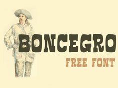 Download free Font Boncegro Font by Sergiy Tkachenko